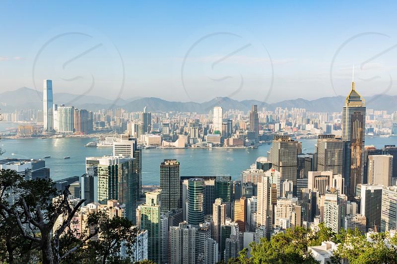 Victoria Peak Hong Kong photo