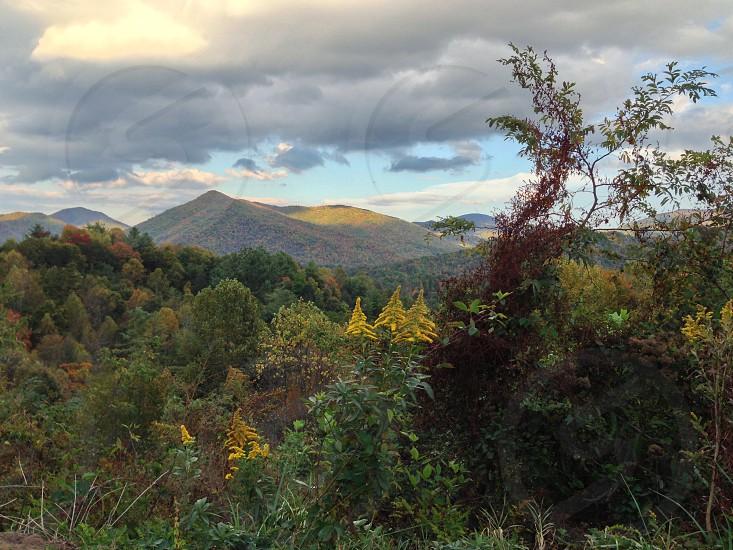 Asheville nc North Carolina mountains nature travel blue ridge parkway adventure wanderlust  photo