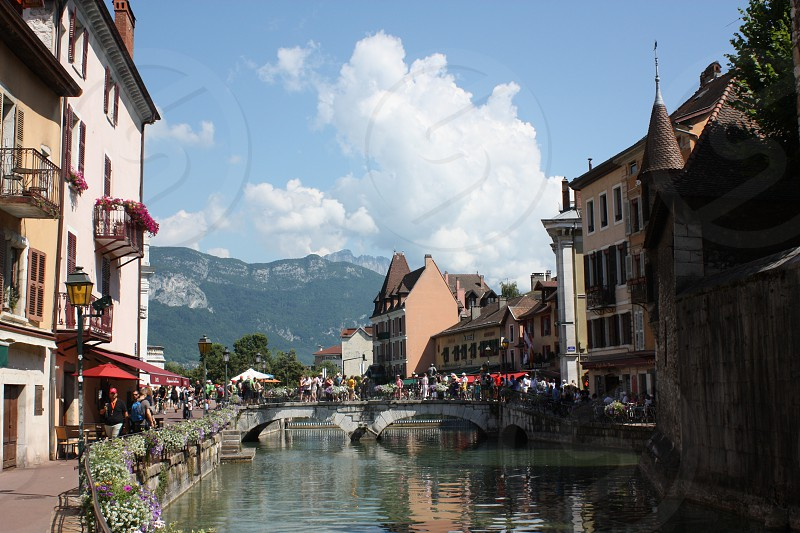 Annecy Haute-Savoie region in the Rhône-Alpes France. photo