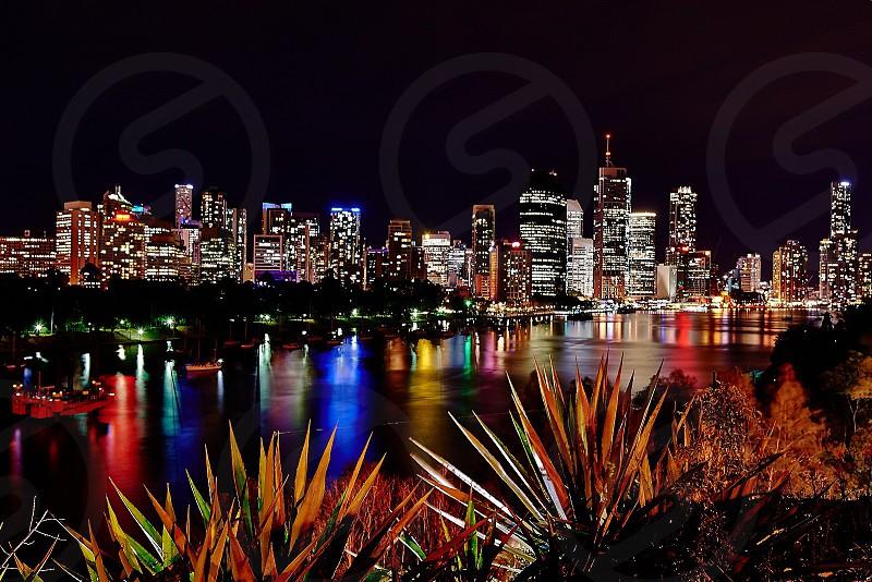 View of Brisbane City in Australia photo
