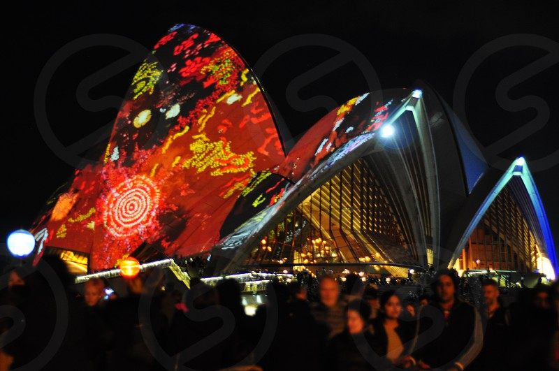 Sydney Opera House Vivid photo