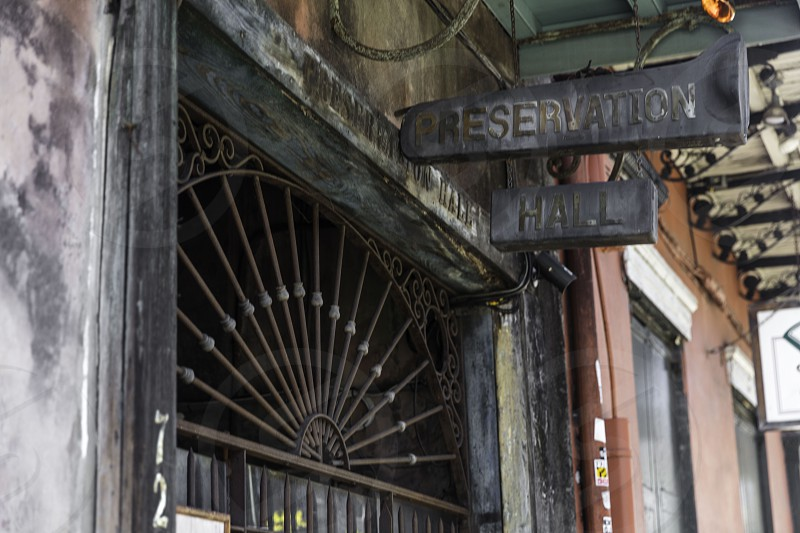 Preservation Hall in New Orleans photo