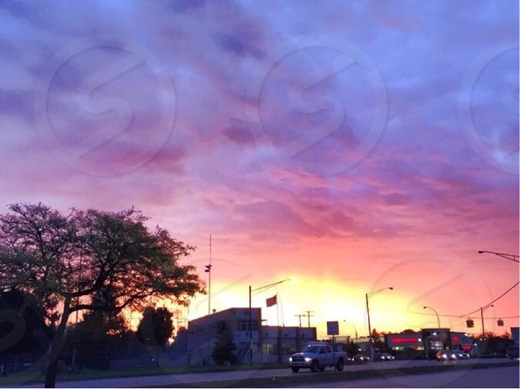 The sky is a beautiful place. Taken in Royal Oak Mi photo