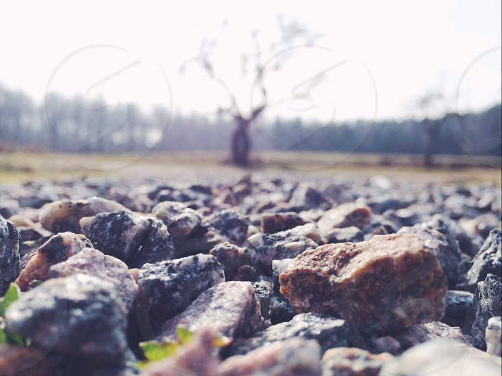 rocks granite photo