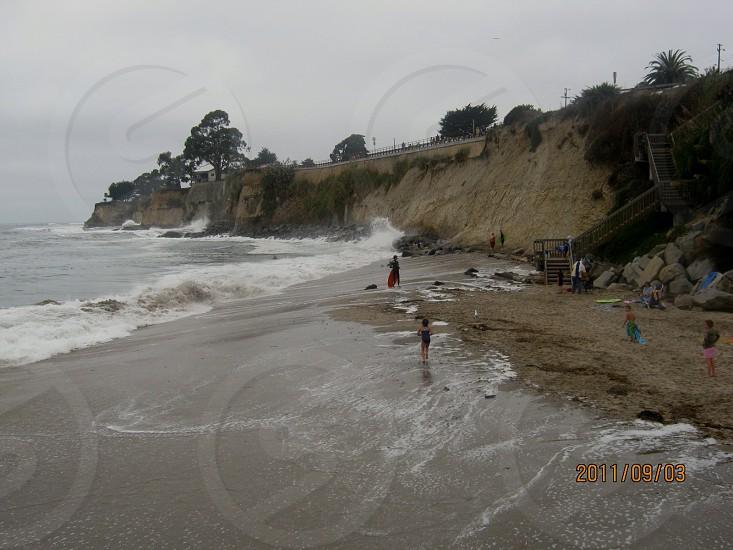 Capitola Beach CA Cliff Scene photo
