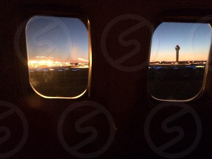 Early morning flight.   photo