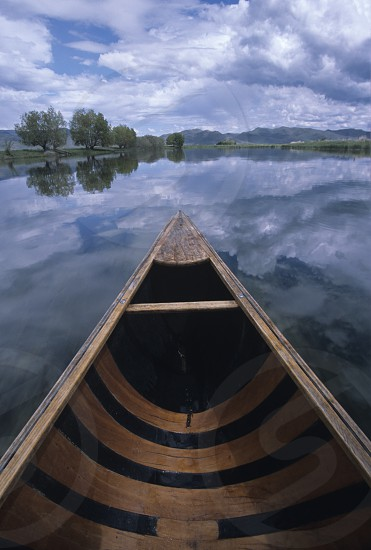 Canoeing Silver Creek Preserve Idaho photo