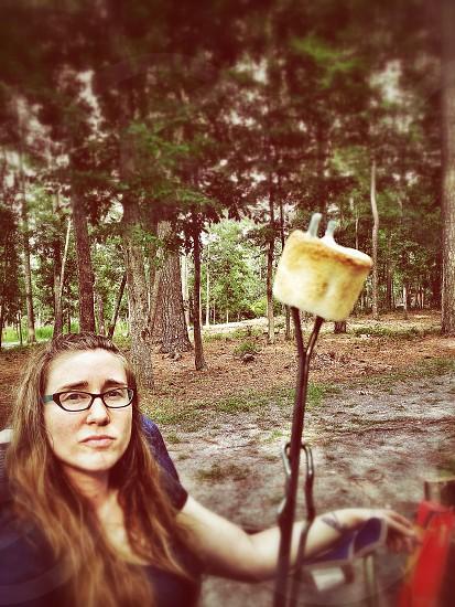 Marshmallow roaster photo