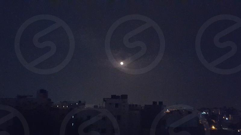 Night before Holi...calm sky photo