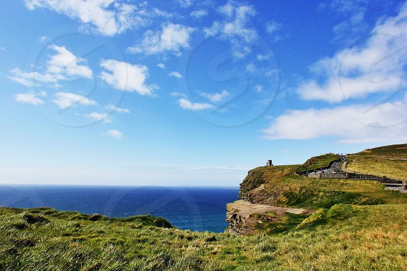 green cliff  photo