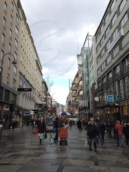 Street Vienna  photo