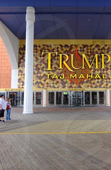 The Trump Taj Mahal Hotel and Casino in Atlantic City New Jersey photo
