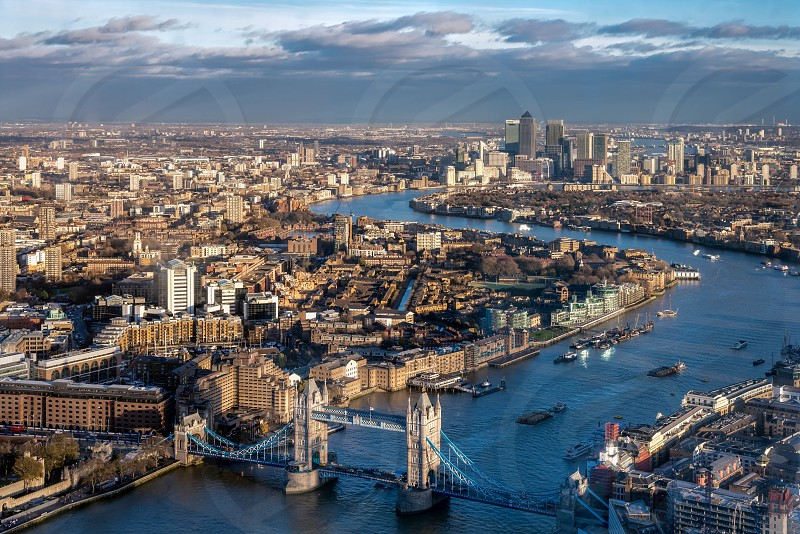 View from the Shard in London photo