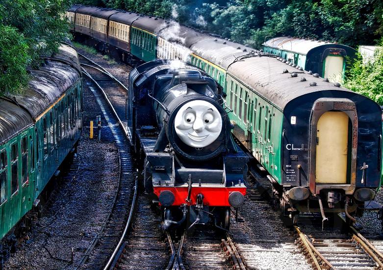 Vintage Steam Train - The real Thomas the Tank Engine photo