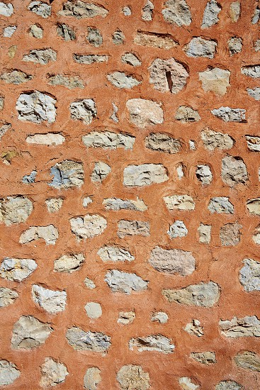 masonry texture in Albarracin Teruel Spain photo