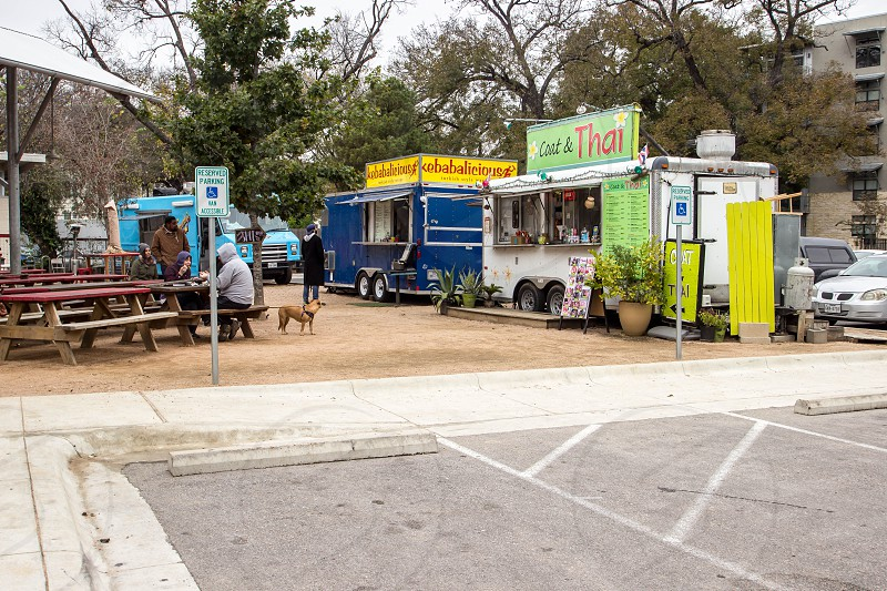 Food Trailers on Barton Springs Rd by Lamar photo
