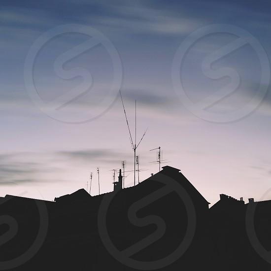 white antenna  photo