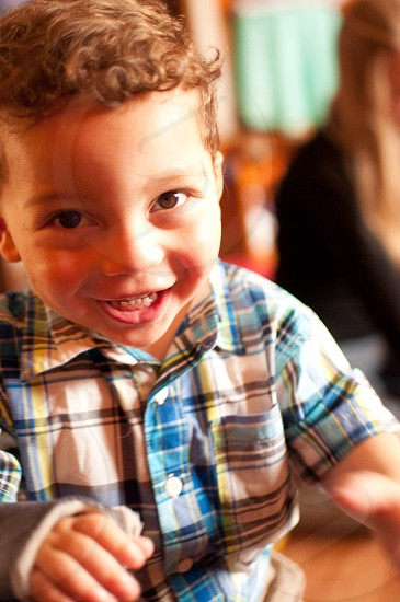 A child's smile is the definition of true happiness photo