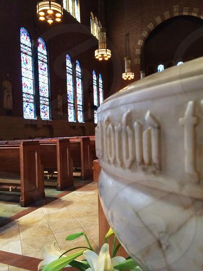 Sunday mass in Hoboken. photo