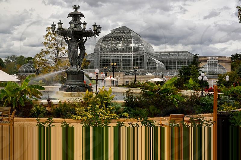 The United States Botanical Gardens in Washington DC. photo