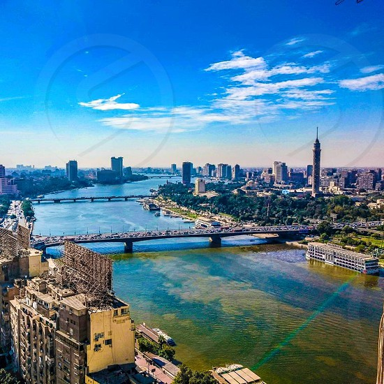 From the highest point of maspero-cairo-Egypt photo