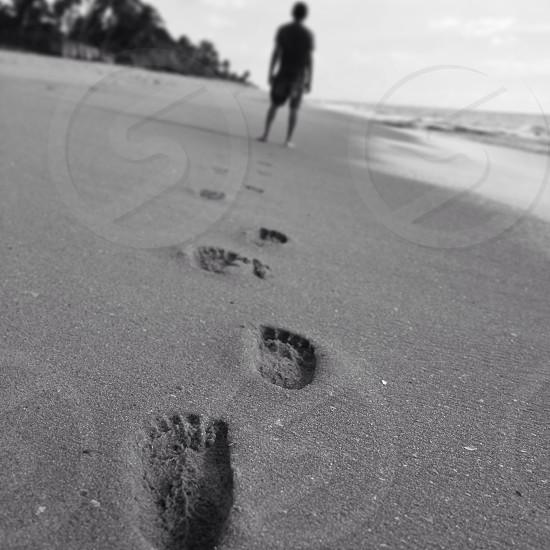 A walk on the beach photo