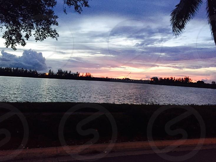 Sunset@ Miami;) photo