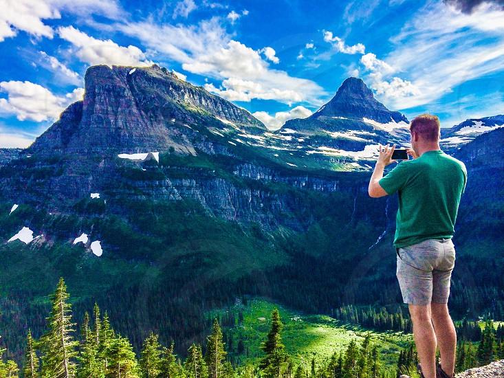 Vacation in glacier park photo