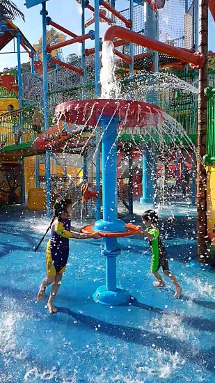 waterpark family fun photo