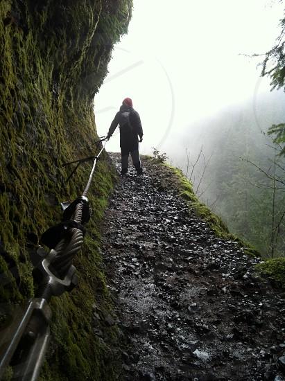 Living near the edge-Eagle Creek Hike Columbia Gorge OR photo