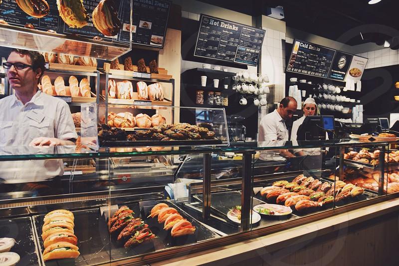 brown buns on display photo
