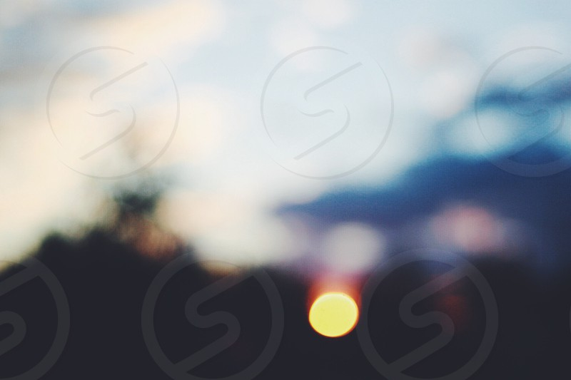 Sunrise Bokeh photo