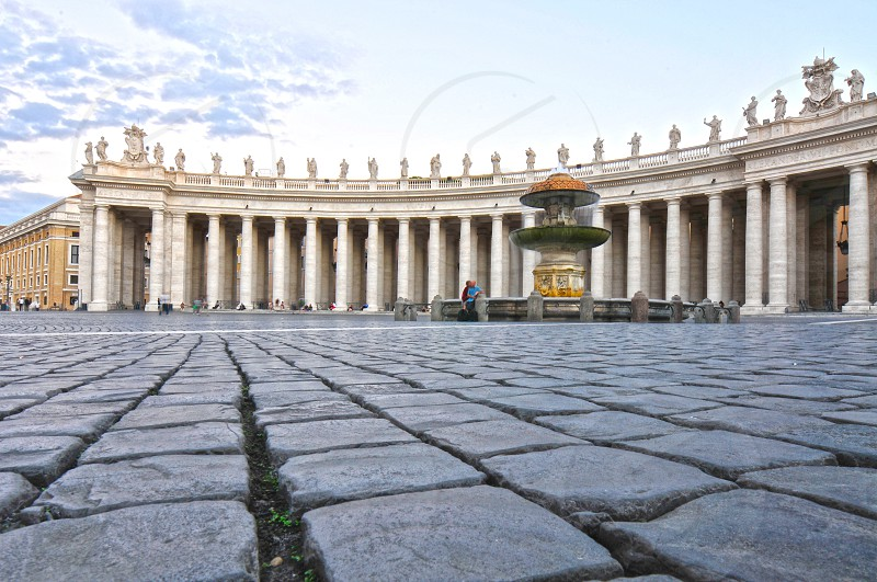 St. Peter's Square in Vatican City. photo