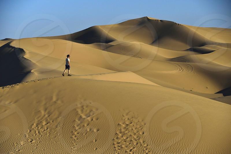 Desert Dune Sky Californians photo
