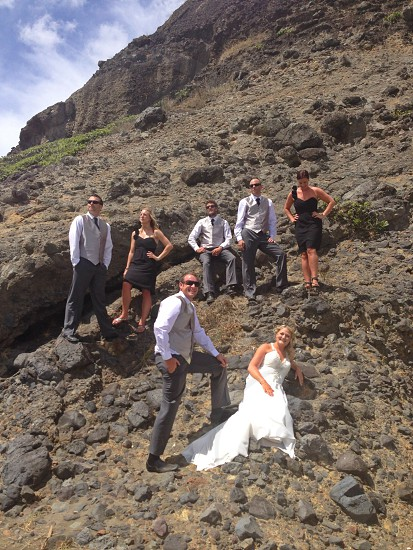 Photo taken with an iPhone 5 - Friends wedding at Karekare Beach in West Auckland NZ photo