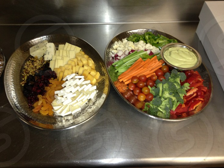 multicolored vegetables on tray photo