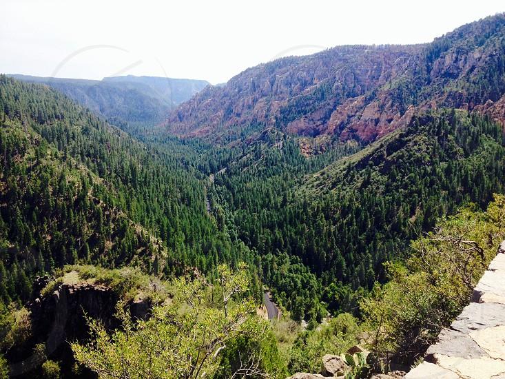 Oak creek canyon  photo