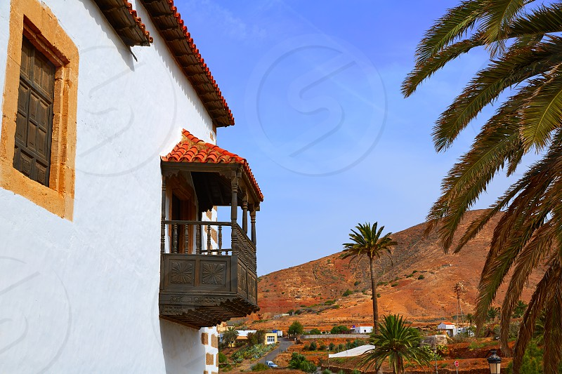 Betancuria village Fuerteventura at Canary Islands of Spain photo