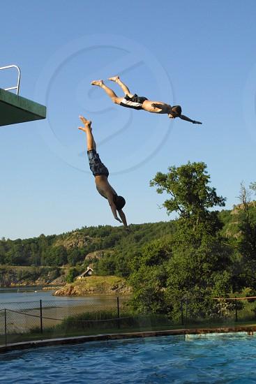 The dive photo