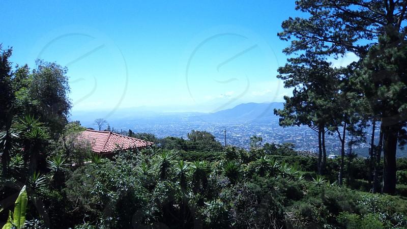 View of San Salvador from Restaurant la Pampa (El Volcán) photo