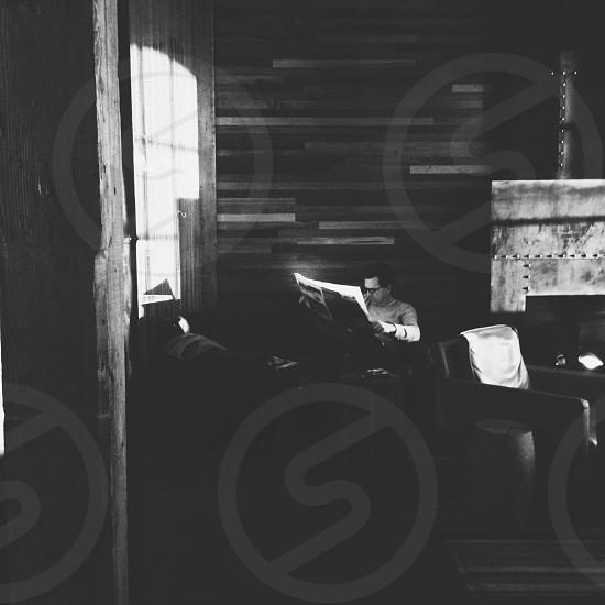 Storyville round 3 black and white photo
