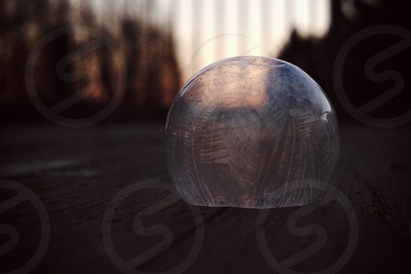 Polar Vortex Frosted Bubble photo