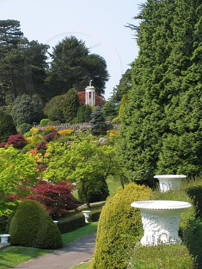 Gardens at Alton Towers Staffordshire England photo