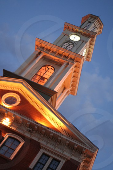 """Clock Tower"" Camden Yard Baltimore Maryland photo"