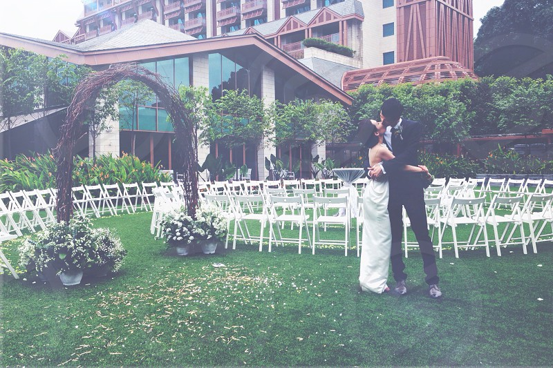 I do; happily ever after; best friend; marriage; vows; just married; true love; bliss photo