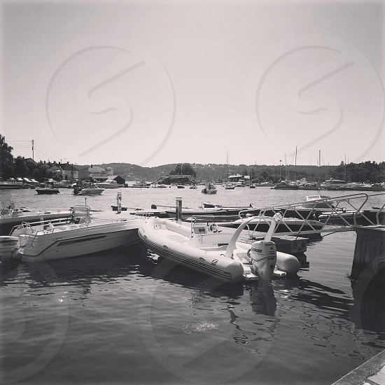 The southern Norwegian city Kragerø photo