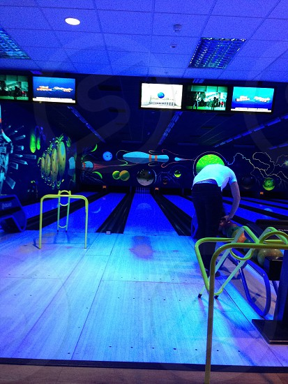 Centre parcs in the UK Ten Pin Bowling photo