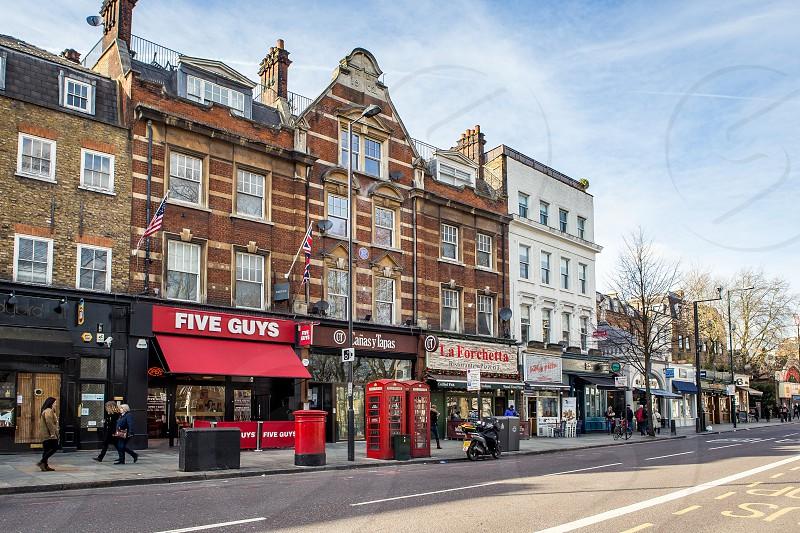 Upper Street Islington London photo