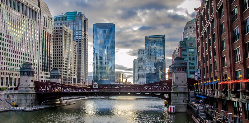 City photography around The Loop in Chicago photo