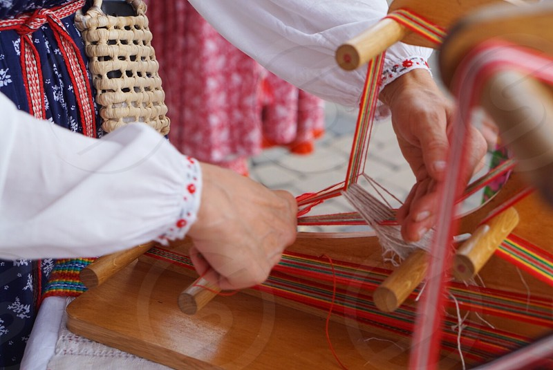 Artscraft art crafts weaving weaver  photo